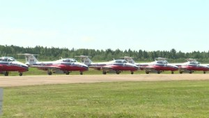 Atlantic Canada airshow returns for eager fans in Miramichi