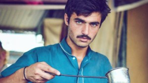 Blue-eyed Pakistani 'chai wala' lands modelling contract after Internet fame