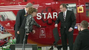 STARS celebrates 5 years in Sask. with renewed funding