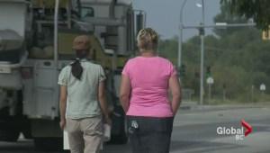 Striking BC teachers resume picket action
