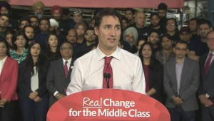 Trudeau: Harper's immigration wait times are unacceptable