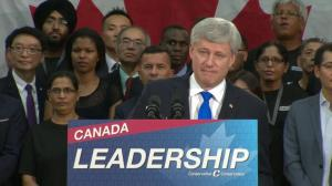 Critical to have a federal government dedicated to low tax plan: Harper