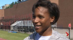 Brampton track star Kyra Constantine gets ready to take on the World