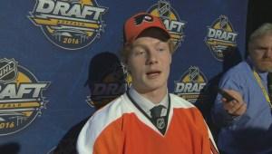 NHL Draft – Wade Allison Raw Interview
