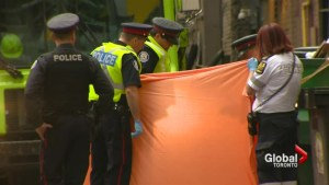 Man killed by dump truck near Yonge and Dundas