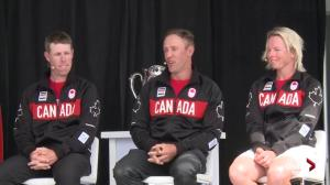Graham DeLaet talks having former NHLer Ray Whitney caddie in Rio