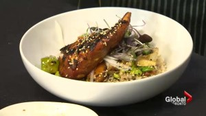 Global Gourmet: A recipe for BBQ salmon rice bowl