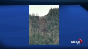 Landslide closes Vedder Mountain Road
