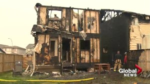 Two homes badly damaged from fire in Panorama Hills