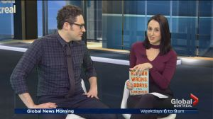 "Canadian screenwriter Elan Mastai's new book ""All our Wrong Todays"""