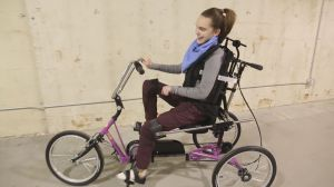Adapted bike makes great early Christmas present for B.C. teen
