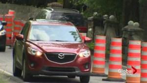 Ste-Anne-de-Bellevue detour has residents seeing red