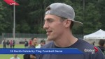 12 North Celebrity Football Game