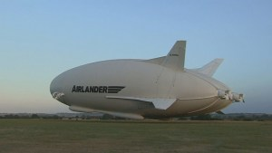 Airlander, considered world's largest aircraft makes debut flight in England