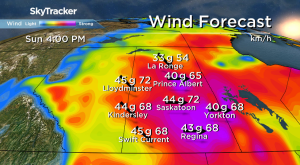 Saskatoon weather outlook: mist, snow, strong wind and a warm up ahead