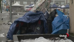 Homelessness and the cold winter weather