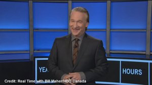Comedian Bill Maher jokes about attack on Ottawa