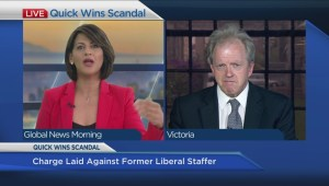 Impact of 'Quick Wins' scandal on BC Liberals and election