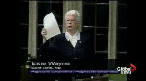 Local politicians, citizens pay tribute to Elsie Wayne