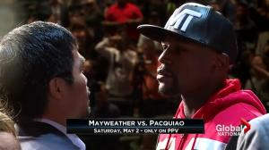 Match of the century? Hype builds for Mayweather-Pacquiao boxing match