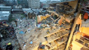 Baby rescued after surviving 3 days beneath collapsed building in Kenya