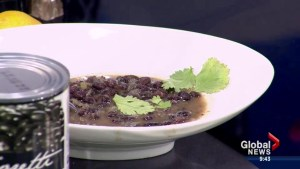 Cooking 101: Black bean soup