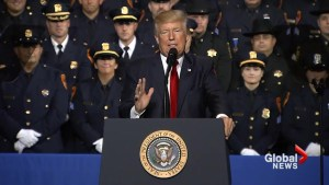 Donald Trump to law enforcement: 'Don't be too nice'