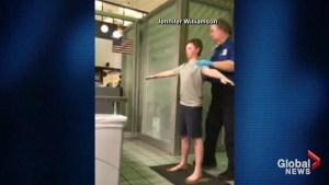 TSA criticized for conducting pat down on boy with special needs