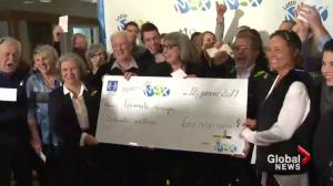 Montreal-area family wins $60M jackpot