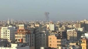 Explosions as Israel resumes airstrikes