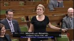 MPs Michelle Rempel and Elizabeth May argue over the use of the word 'fart' in House of Commons