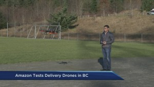 Amazon testing delivery drones in BC