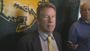 RAW: Manitoba Bisons Brian Dobie on new assistant coaches