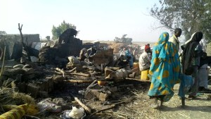 Airstrike by Nigerian air force kills 50, wounds 120  after hitting camp for displaced people