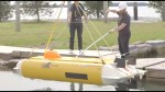 Mini-submarine launched in Lake Ontario to uncover the Avro Arrow