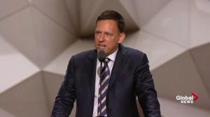 'I am proud to be gay, I am proud to be a Republican': Peter Thiel during RNC speech