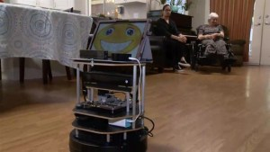 Care home introduces new high-tech helping hand