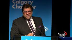 Helping small businesses survive focus of Nenshi's address to chamber