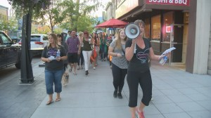 Annual march 'takes back night' in Kelowna