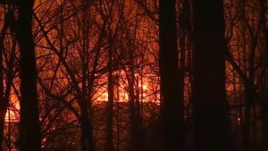 Tennessee wildfire forces thousands to abandon homes