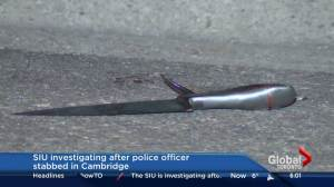 Man shot by police, Waterloo officer stabbed in Cambridge