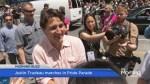 Justin Trudeau makes history at Toronto Pride