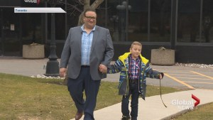 Father urges families to seek cerebral palsy treatment in Montreal