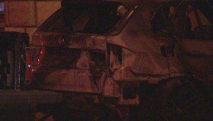 Raw video: Several cars torched in St. Leonard