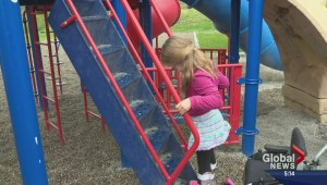 Penticton mother says inaccessible playgrounds mean daughter is left out