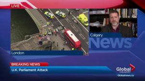 Calgary expert weighs in on U.K. Parliament 'terror incident'