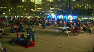 Toronto Blue Jays fans watch Game 3 eagerly as team takes on Cleveland
