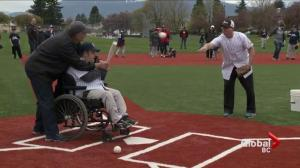 B.C. kids of all abilities play on specially designed baseball field