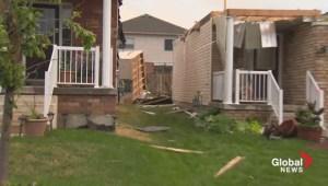 Tornado devastates Angus, Ont.