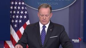 Sean Spicer says there is 'no plan B' after vote on Obamacare